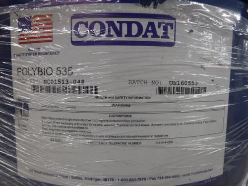Condat POLYBIO 535 Metalworking Lubricant 55 Gallon NC01513-048 (STK)