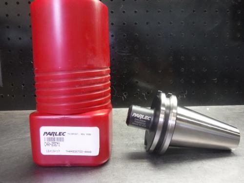 "Parlec CAT40 1/4"" Endmill Tool Holder 1.75"" Projection C40-25EM1 (LOC668B)"