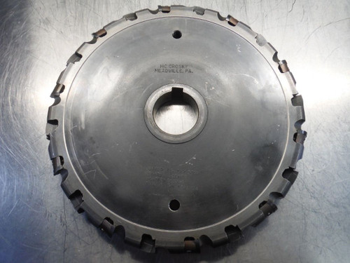 """McCrosky 15"""" Indexable Slot Milling Cutter DIA15""""x1.375x2.500 (LOC2344)"""