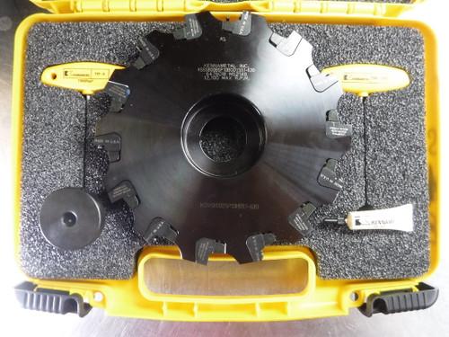 "Kennametal 8"" Slot Milling Cutter 1.5"" Arbor KSSS800BSP10BODY551-630 (LOC1868A)"