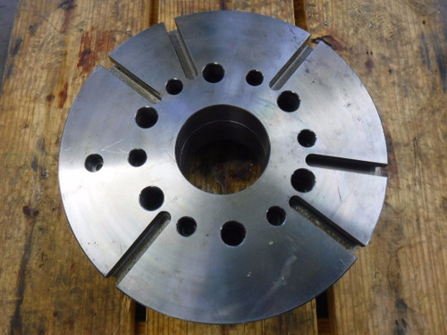 """KCM 18"""" Slotted Faceplate with Spindle Mount Adapter HK16 118MA11-4 (LOC40)"""