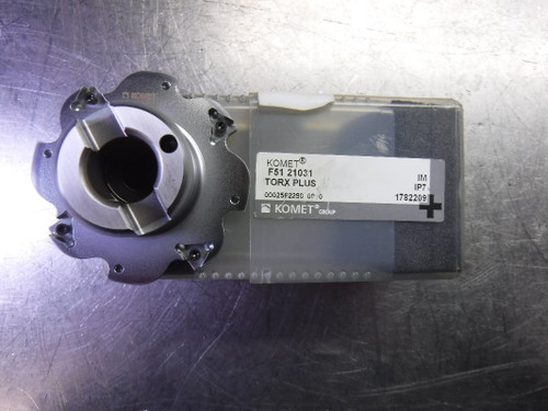 Komet 63mm Indexable Slot Milling Cutter 16mm Arbor F51 21031 (LOC589)