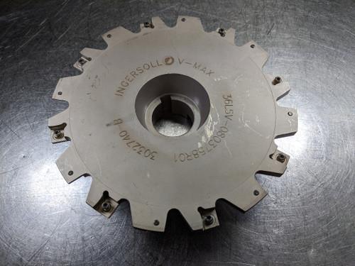"Ingersoll 8"" Slot Cutter 1.5"" Arbor 36L5V-0803758R01 (LOC2643B)"