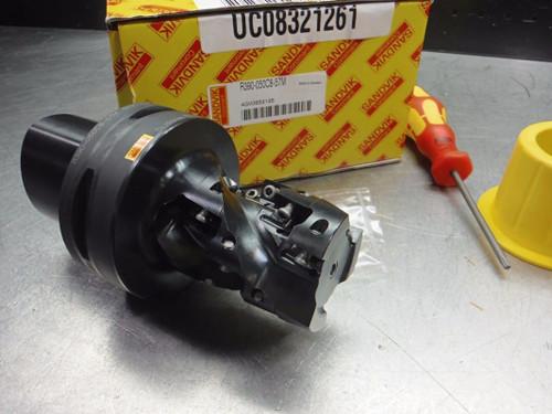 Sandvik C8 50mm Indexable Milling Cutter R390-050C8-57M w/inserts (LOC2705B)