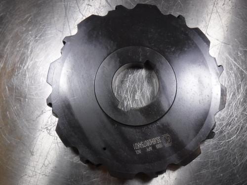 "Ingersoll 8"" Indexable Slot Milling Cutter 2"" Arbor 3SJ6H08075AK01 (LOC1041B)"