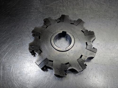 """Sandvik 6"""" CoroMill 331 Milling Cutter 1.5"""" Arbor L331.52-152T38KM (LOC2754A)"""