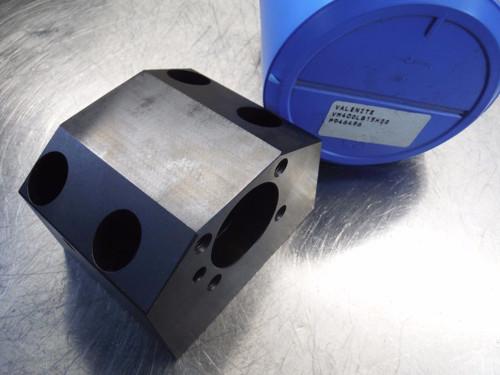 Valenite Lathe Turret Block For KM40 Clamping Unit 80mm x 45mm Pattern (LOC2607)