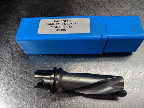 "Valenite VM / KM 32 1"" Indexable Drill VM32-VWDL-100-337  (LOC1407A)"