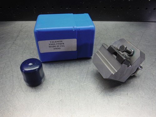 Valenite VM / KM 32 Tool Block For Part and Groove Blades VM32-VTBFR (LOC2763D)
