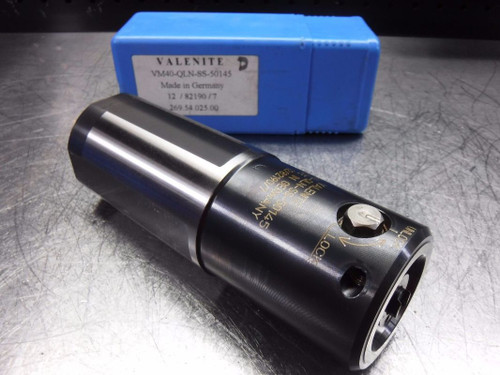 Valenite 50mm Straight Shank KM40 Clamping Unit VM40-QLN-SS-50145 (LOC163A)