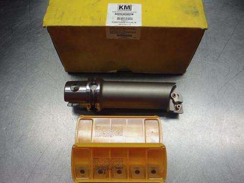 Kennametal KM50 Boring Bar KM50TSS40LMCLNL16 w/ Qty 8 Inserts (LOC8A)