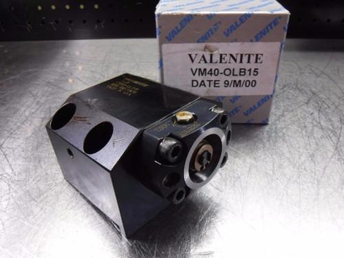 Valenite VM/KM 40 Lathe Tool Post 80mm x 45mm Bolt pattern VM40-OLB15 (LOC239)