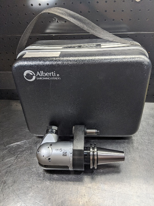 Alberti CAT40 ER20 Adjustable Angle Live Tooling Head TCU-1.5 (LOC2641A)