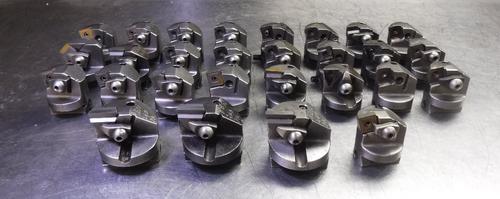 Lot of 28 Valenite Vari-Set Boring Heads HBN-22 & RBN-240PA (LOC82)