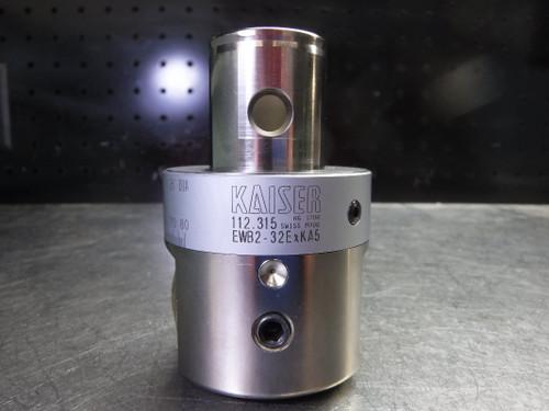 "Kaiser KAB5 12mm Finish Boring Bar Head .078""-1.26"" Range 10.112.315 (LOC2655A)"