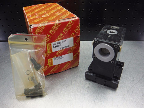 Sandvik Lathe Turret to Capto C4 Drive Adapter 440-810111L185 (LOC2823B)