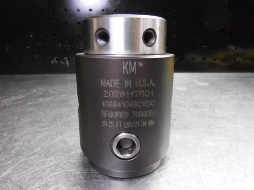 Kennametal KM50 Boring Bar Adapter 63mm 2028117R01 108841048CVD0 (LOC2233A)