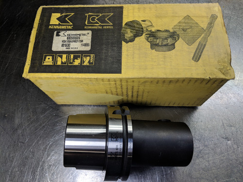 Kennametal HSK100A to KM63 Adapter 115mm Projection HSK100AKM63115M (LOC2792A)