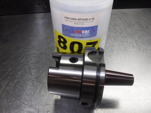 """ERI America HSK 100A 1/4"""" Shrink Fit 85mm Pro HSK100A-SF0250-3.35 (LOC1343A)"""
