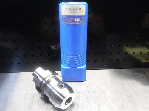 ERI America HSK63A 20mm Endmill 85mm Pro HSK63A-EM20-85 (LOC1923D)