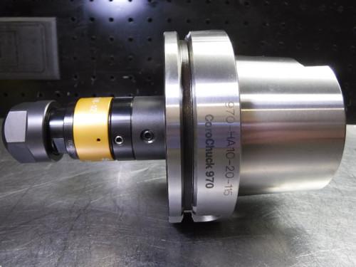 """Sandvik HSK100A ER20 Collet Chuck 4"""" Projection 970-HA10-20-115 (LOC1438C)"""