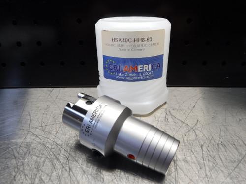 ERI America HSK40C 8mm Hydraulic Endmill 60mm Pro HSK40C-HH8-60 (LOC358A)