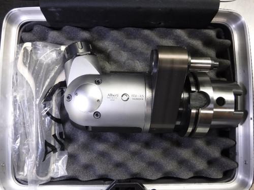 Alberti HSK100 ER25 Adjustable Angle Tooling Head TCU-2.5 14280004 (LOC1912B)