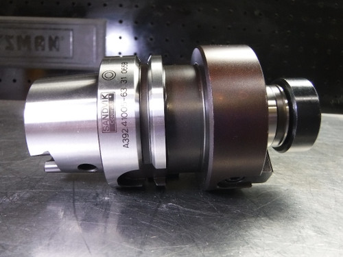"Sandvik HSK63A 1.25"" Facemill Holder 2.625"" PRO A392.41005-63 31 065B (LOC2239)"