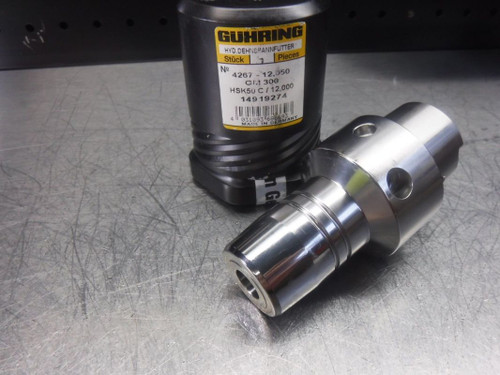 GUHRING HSK 50 C 12mm Hydraulic Endmill Holder GM300 4267  (LOC2710A)