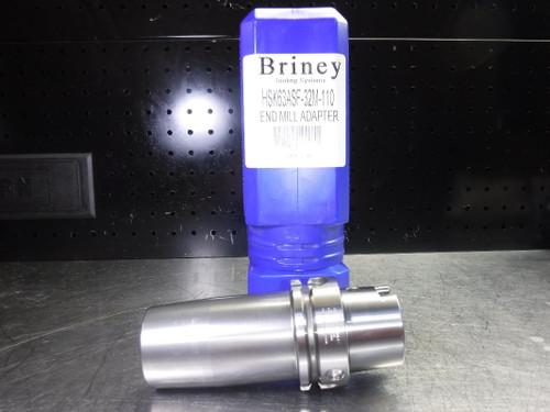 Briney HSK63A 32mm Endmill Holder 110mm Projection HSK63ASF-32M-110 (LOC830)