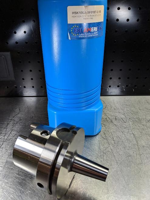 "ERI America HSK 100A 3/16"" Shrink Fit 80mm Pro HSK100A-SF0187-3.15 (LOC1606)"