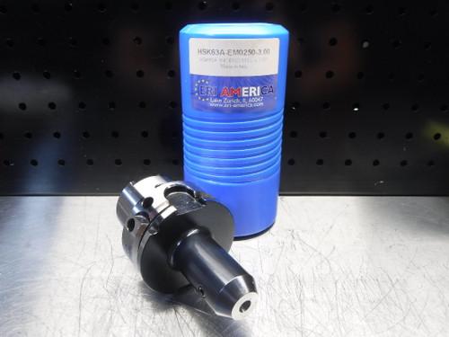 """ERI America HSK63A 1/4"""" Endmill 3"""" Pro HSK63A-EM0250-3.00 (LOC1923A)"""