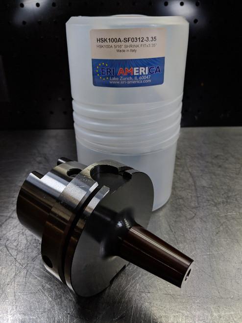 """ERI America HSK 100A 5/16"""" Shrink Fit 85mm Pro HSK100A-SF0312-3.35 (LOC1345A)"""