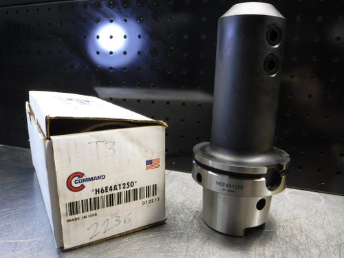 """Command HSK100 1.250"""" Endmill Holder 6.750"""" Projection H6E4A1250 (LOC2343A)"""