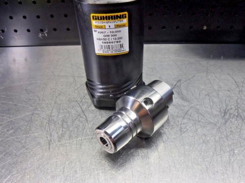 GUHRING HSK 50 C 10mm Hydraulic Endmill Holder GM300 4267  (LOC2710A)