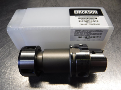 "Erickson HSK40 TG50 Collet Chuck 3"" Projection HSK40ATG050080M (LOC813B)"