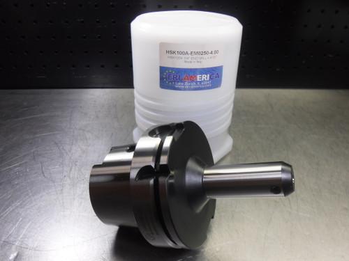 """ERI America HSK 100A 1/4"""" Endmill 4"""" Pro HSK100A-EM250-4.00 (LOC1336A)"""