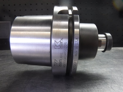 """Kennametal HSK100A 1"""" Facemill Holder 2.25"""" PRO HSK100ASM100225 (LOC2981A)"""