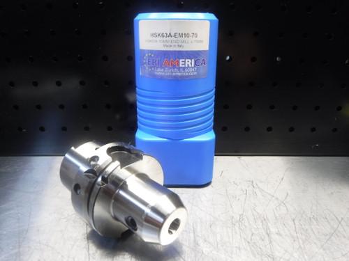 ERI America HSK63A 10mm Endmill 70mm Pro HSK63A-EM10-70 (LOC1923C)