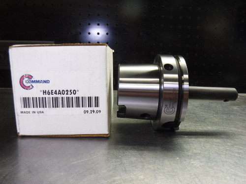 """Command HSK100A 1/4"""" Endmill Holder 4.38"""" Projection H6E4A0250 (LOC1995A)"""
