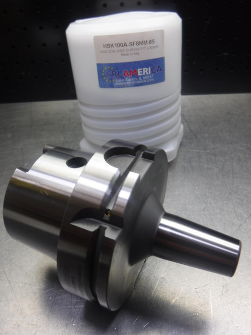 ERI America HSK 100A 8mm Shrink Fit 85mm Projection HSK100A-SF8MM-85 (LOC1422A)