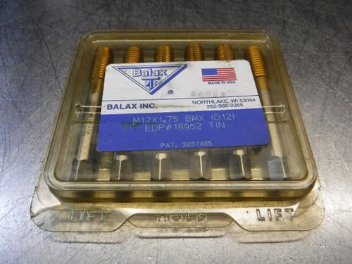 Balax 12mm Bottoming taps QTY6 M12X1.75 BMX (LOC1570)