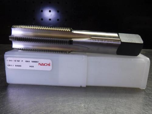 Nachi 1 1/4-12 NF P GH4 Standard Hand Tap L911/64333 (LOC2486)