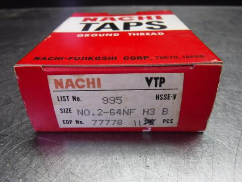 Nachi No.2-64NF H3 B Viper Taflet Tap For Steels QTY11 L995/77778 (LOC2489)