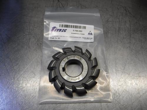 """ToolMex 3"""" HSS Convex Milling Cutter 1"""" Arbor 9/16x3x1 HSS (LOC2187)"""