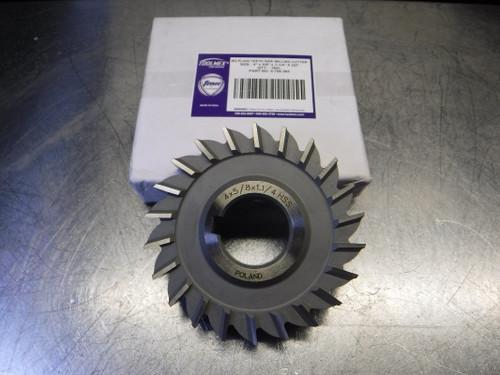 """ToolMex TMX 4"""" HSS Slot Mill 1.250"""" Arbor 4x5/8x1-1/4 22T (LOC2828B)"""