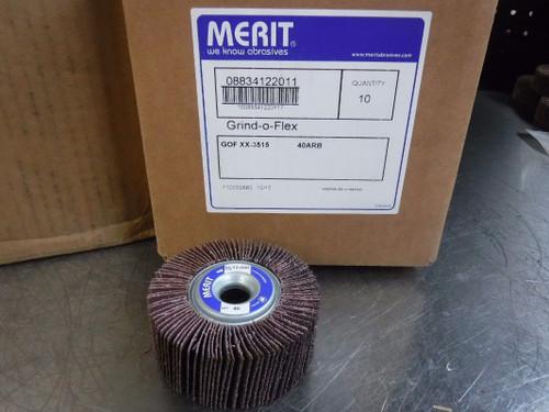Qty: 80 Merit Grind-O-Flex 3515 40 Grit 08834122011 (LOC170)