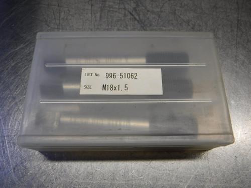 """Nachi Viper-T M18x1.5 HSS Roll Form Tap 0.542"""" Shank L996/51062 (LOC387)"""