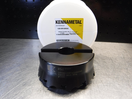 Kennametal HexaCut 100mm Indexable Facemill 32mm Arbor 100B10RF45HN09C (LOC112)
