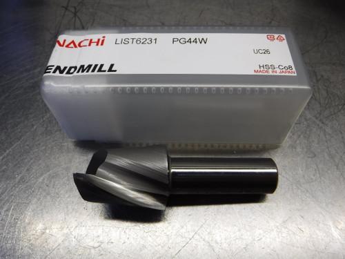 "Nachi 1.375"" HSS 2 Flute Endmill 3/4"" Shank PG44W 1-3/8 L6231 (LOC233A)"